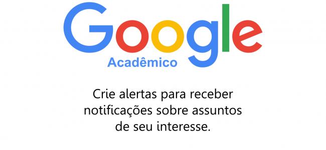 Alertas de novos trabalhos no Google Acadêmico: tutorial